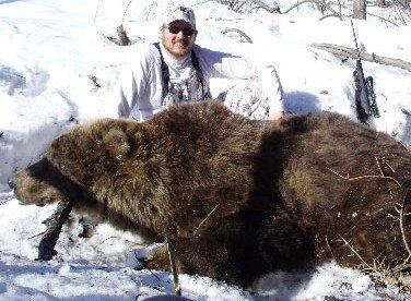Ryan Halbower Alaska Bear Hunt